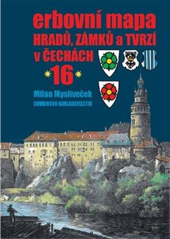 Erbovní mapa hradů, zámků a tvrzí v Čechách 16