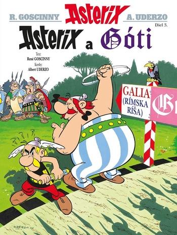 Asterix 3. Asterix a Góti