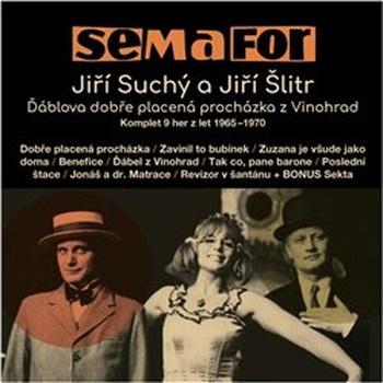 Semafor - Jiří Suchý a Jiří Šlitr - 15 CD (audiokniha)