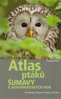 Atlas ptáků Šumavy a Novohradských hor + CD