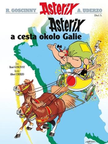 Asterix 5. Asterix a Cesta okolo Galie