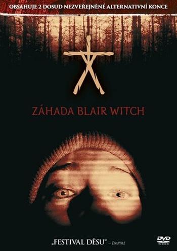 Záhada Blair Witch - DVD