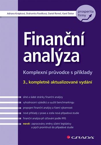 Finanční analýza. Komplexní průvodce s příklady