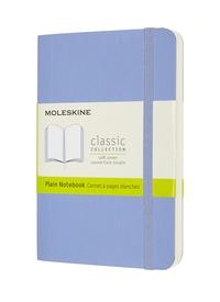 Zápisník Moleskine měkký čistý světle modrý S