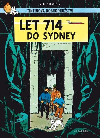Tintinova dobrodružství (22). Let 714 do Sydney