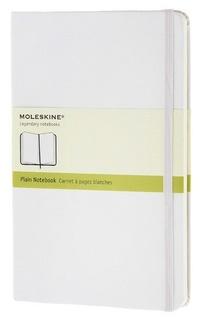 Zápisník, čistý, bílý L