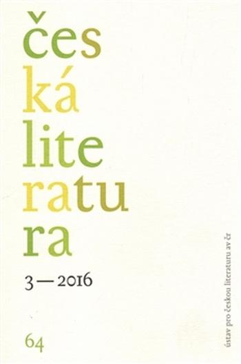 Česká literatura 3/2016