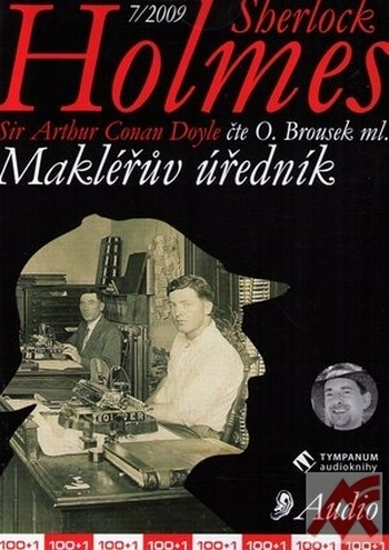 Sherlock Holmes. Makléřův úředník - CD (audiokniha)