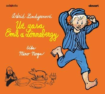 Už zasa Emil z Lönnebergy - CD (audiokniha)