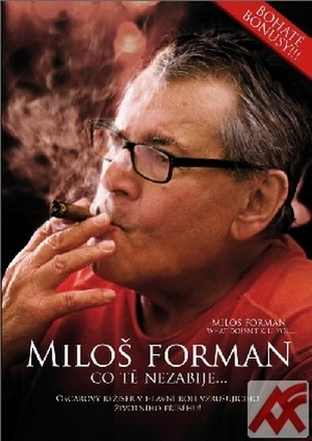 Miloš Forman. Co tě nezabije... / Milos Forman. What Doesn't Kill You - DVD