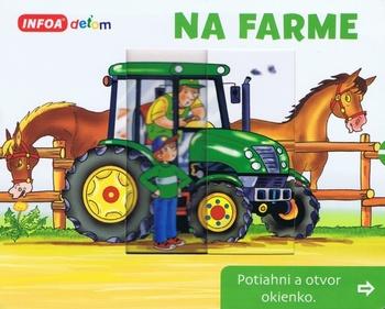 Na farme - Potiahni a otvor okienko