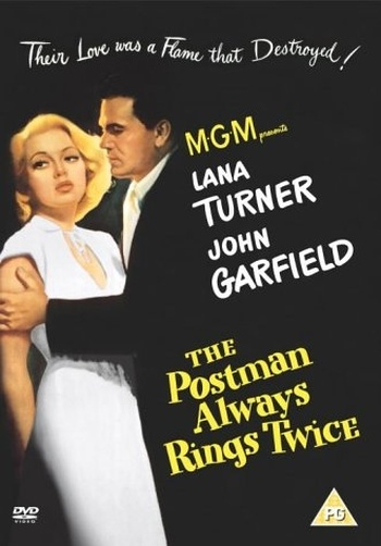 Pošťák vždy zvoní dvakrát - DVD (1946)