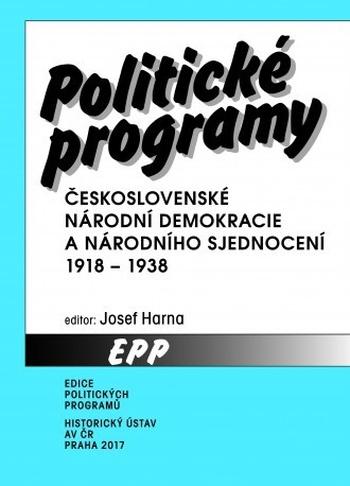 Politické programy Československé národní demokracie a