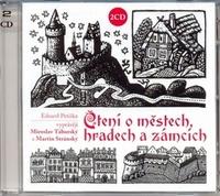 Čtení o městech, hradech a zámcích - 2 CD (audiokniha)