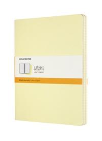 Sešity Moleskine 3 ks linkované žluté XL