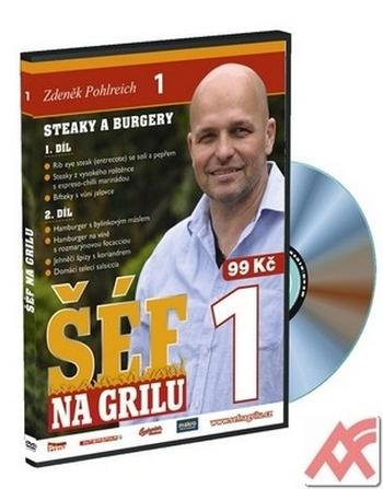 Šéf na grilu 1. - DVD
