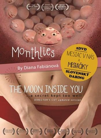 Monthlies. Mesiačiky / The Moon Inside You. Mesiac v nás - 2 DVD