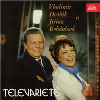 Vladimír Dvořák a Jiřina Bohdalová v Televarieté 1