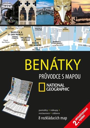 Benátky. Průvodce s mapou National Geographic