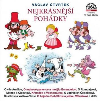 Nejkrásnější pohádky - 2CD MP3 (audiokniha)