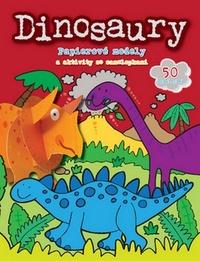 Dinosaury. Papierové modely a aktivity so samolepkami