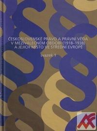 Československé právo a právní věda v meziválečném období 1918-1938 a jejich...