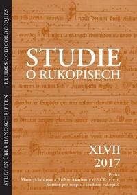 Studie o rukopisech XLVII