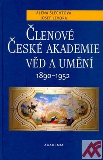 Členové České akademie věd a umění 1890 - 1952