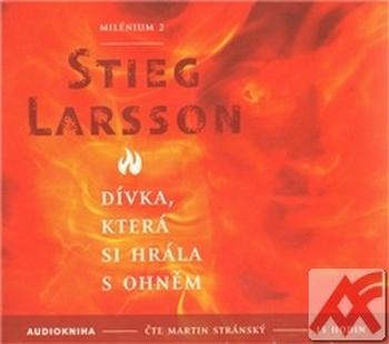 Dívka, která si hrála s ohněm. Milénium 2 -  2 CD MP3 (audiokniha)
