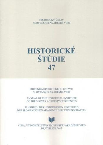 Historické štúdie 47