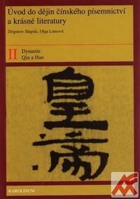 Úvod do dějin čínského písemnictví a krásné literatury II.