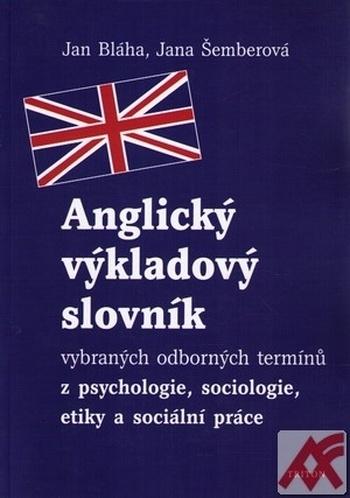 Anglický výkladový slovník vybraných odborných termínů