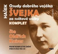 Osudy dobrého vojáka Švejka - 4CD MP3 (audiokniha)