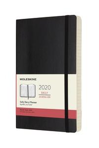 Diář Moleskine 2020 denní měkký černý L