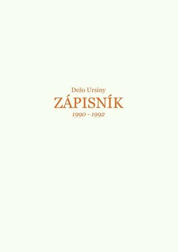 Zápisník 1990-1992