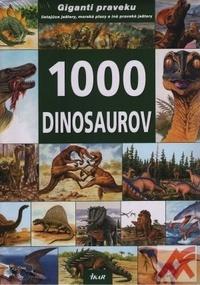 1000 dinosaurov