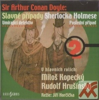 Slavné případy Sherlocka Holmese 2 - CD (audiokniha)