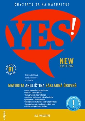 Angličtina YES! - Maturita. Základná úroveň (B1) + interaktívny obsah