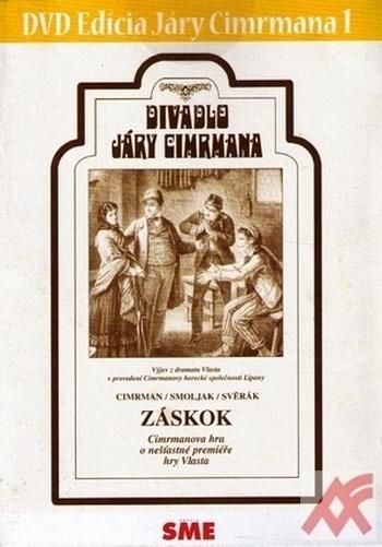 Divadlo Járy Cimrmana 1 - Záskok - DVD