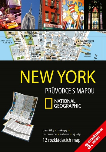 New York. Průvodce s mapou National Geographic