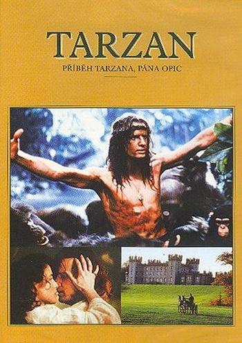 Tarzan. Příběh Tarzana, pána opic - DVD
