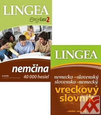 Komplet - Nemčina 40 000 hesiel (DVD) + Nem.-slov. a slov.-nem. vreckový slovník