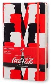 Coca-Cola zápisník čistý L