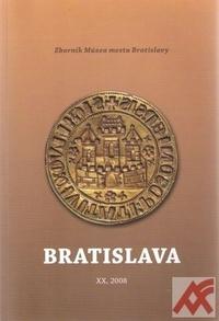 Bratislava XX. Zborník Múzea mesta Bratislavy 2008