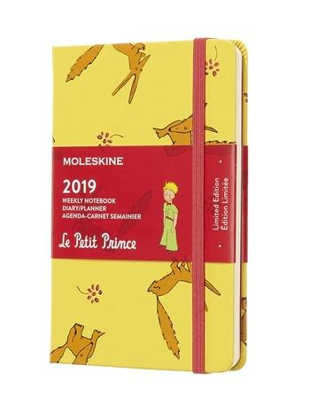 Malý princ plánovací zápisník Moleskine 2019 S
