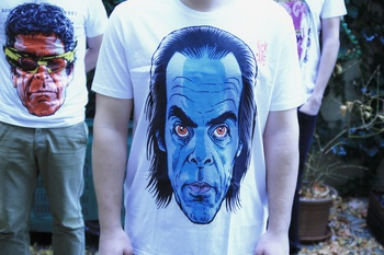 Tričko Danglár Nick Cave XL