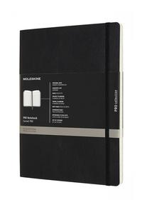 Professional diář - zápisník Moleskine měkký černý XL