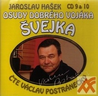 Osudy dobrého vojáka Švejka - CD 9 & 10 (audiokniha)