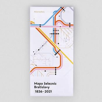 Mapa železníc Bratislavy 1836-2021