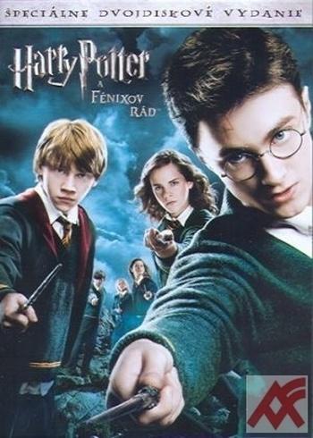Harry Potter a Fénixov rád - DVD (slovenský dabing)